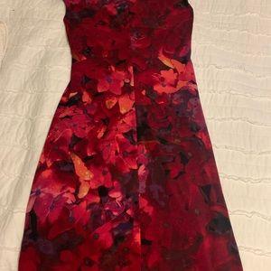 Beautiful red and black Ralph Lauren dress